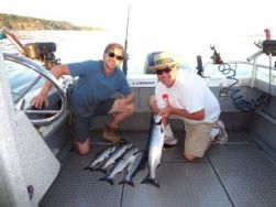 Home Page Saltspring Reel Action Fishing Charters Saltspring Gulf